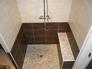 Carrelage Antidérapant Douche : sol de douche italienne sol de douche l 39 italienne tuff ~ Premium-room.com Idées de Décoration
