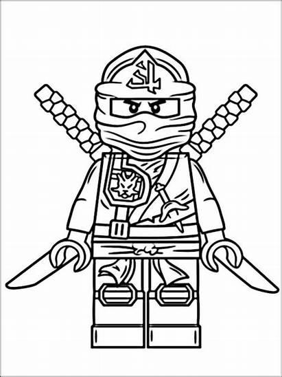 Coloring Ninjago Lego Ausmalbilder Pages Ninja Gratis