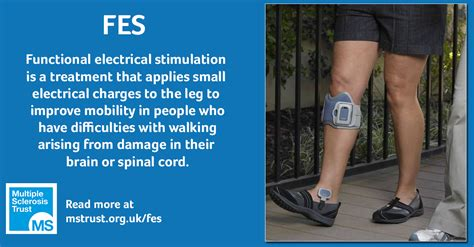 Functional electrical stimulation (FES) | MS Trust