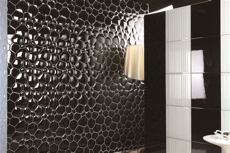 30 ideas of using glass mosaic tile for bathroom walls