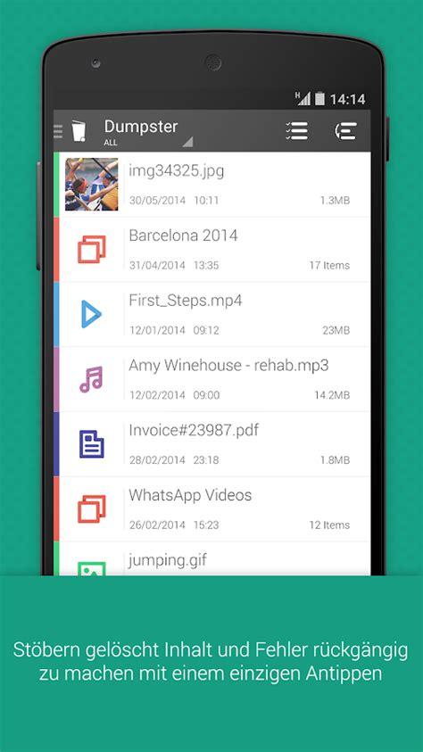 Store Wiederherstellen by Dumpster Wiederherstellen Data Android Apps Auf Play