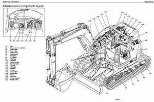 Kubota Excavator Kx080