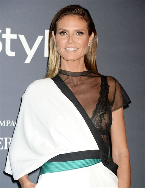 Heidi Klum Instyle Awards Los Angeles