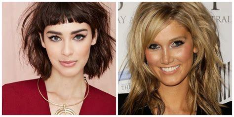mid length hairstyles  fringe  medium hairstyles