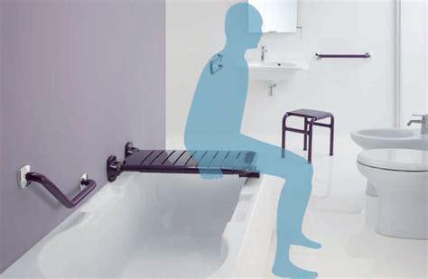 sedili per vasca da bagno accessori bagno per anziani sedili maniglioni e sanitari