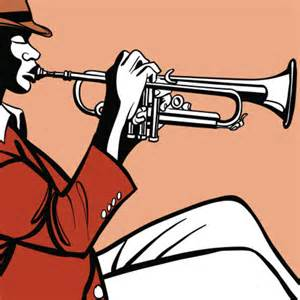 Trumpet Player Clip Art