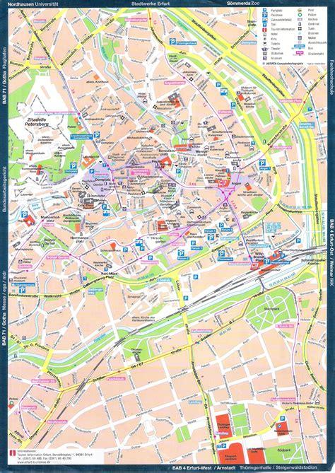 guide  bach  erfurt maps