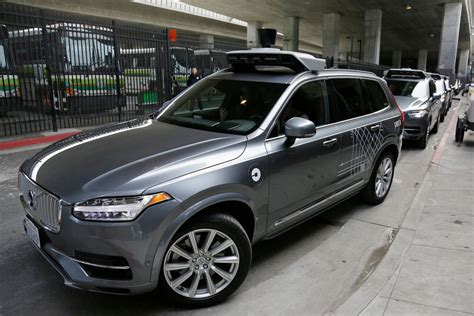 Uber Launches Small Fleet Of Self-driving Cars