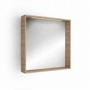 Miroir lumineux led salle de bain 80x80 cm for Miroir salle de bain éclairant
