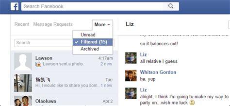 facebook    hidden message inboxes heres