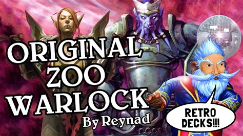 Original Zoo Warlock By Reynad [standard]  Retro Deck