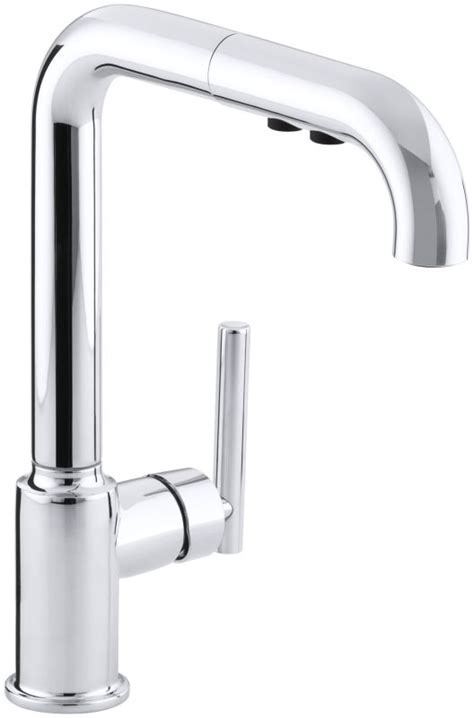 kohler faucet aerator removal kohler k 7505 cp polished chrome single handle pullout