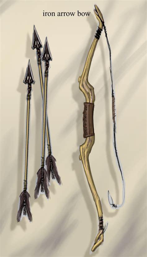 iron bow video games artwork