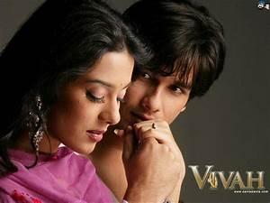 Amrita Rao and Shahid Kapoor in Vivah Movies Photoshoot ...