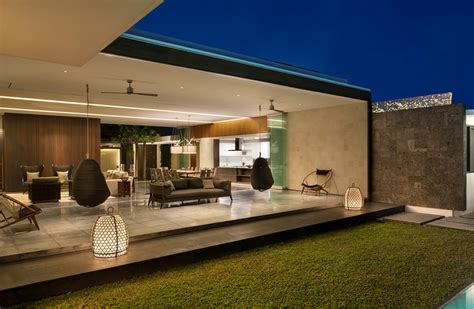 modern resort villa  balinese theme idesignarch