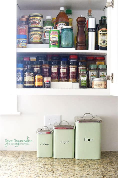How To Organize Spices In Cupboard by Time To Clean Out And Organize Your Spice Cupboard All