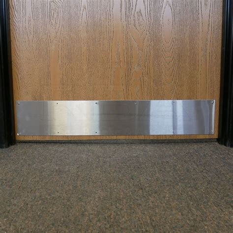 door kick plates brushed stainless steel kick plate satin stainless steel