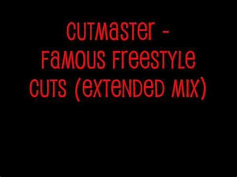 Cutmaster  Famous Freestyle Cuts (extended Mix) Youtube