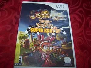 Myth Makers  Super Kart Gp  Nintendo Wii  2007  Complete