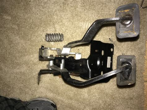 pdb clutch pedal assembly reconditioned vintage
