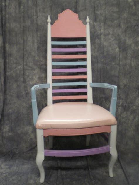chair princess pastel