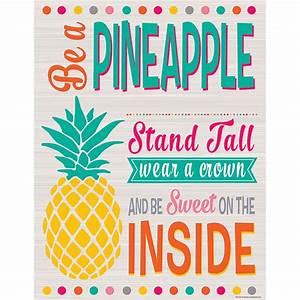 Tropical Punch Be a Pineapple Chart - TCR7563 Teacher