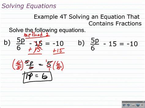 How To Solve Multistep Equations With Fractions And Decimals  Algebra 1 Help Youtube