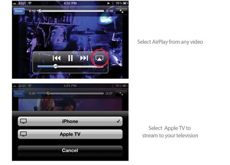 how to play from iphone to tv how to use airplay on or iphone to apple tv