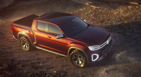 volkswagen atlas vw atlas tanoak concept could preview a pickup the