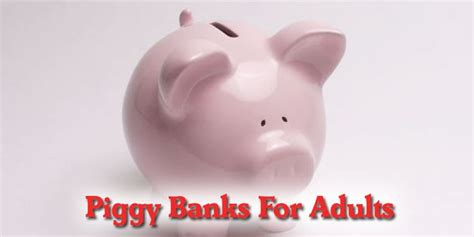 1000+ Images About Piggy Banks For Adults On Pinterest