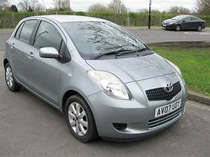 2007 Toyota Yaris Zinc 1 2 Manual  Very Low Mileage  Service History  One Owner