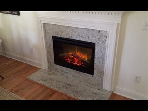 convert wood fireplace to electric gas to electric fireplace conversion 12 18 15