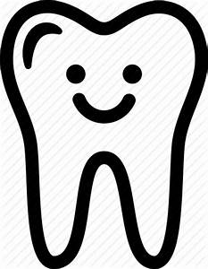 Clean, dental, expression, happy, smile, tooth icon   Icon ...