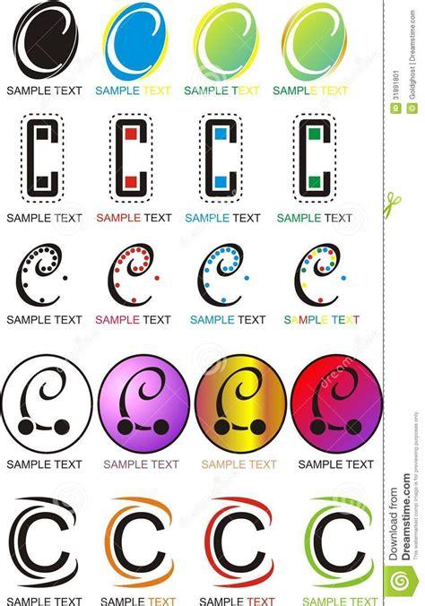 Decorator Pattern C by Letter C Logo Stock Image Image 31891801