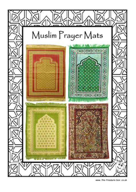 guide  craft activity  muslim islamic prayer mats
