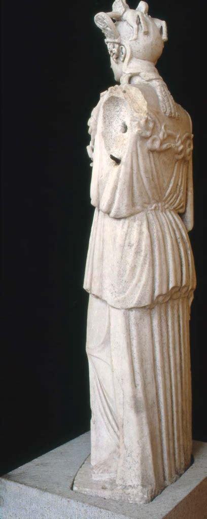 statue  athena parthenos  virgin goddess museum