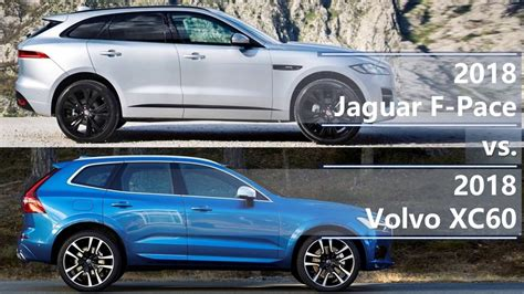 jaguar  pace   volvo xc technical