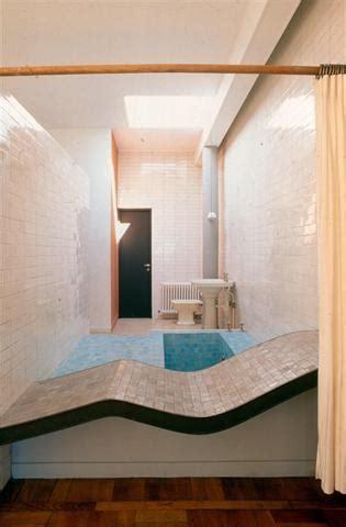 fondation le corbusier salle de bains villa savoye a voir le corbusier