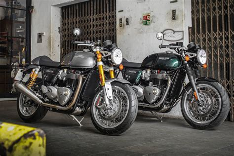 triumph finally releases specs for thruxton and