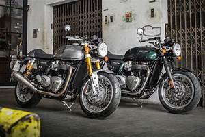 Thruxton R 1200 : triumph finally releases full specs for thruxton and thruxton r ~ Medecine-chirurgie-esthetiques.com Avis de Voitures