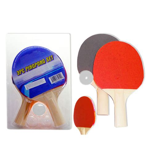 ping pong paddles for pc 2pc ping pong paddle table tennis racket rubber bat w 3 balls for 7795735138410 ebay