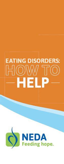 brochures national eating disorders association