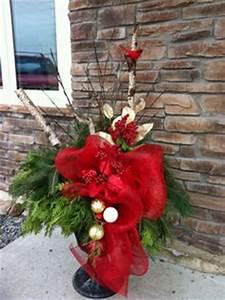 Classy Christmas Urn