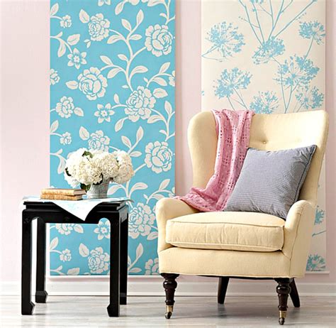 creative diy wallpaper   special touch