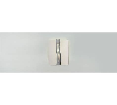 buy home oasis wall light glass and chrome at argos co