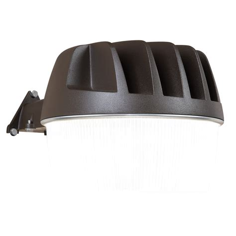 dusk to dawn light lowes shop all pro area and wall light 1 head 33 watt bronze led