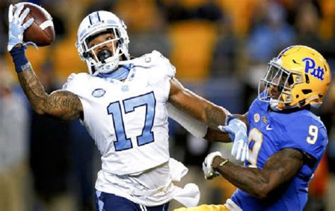 anthony ratliff williams  unc football player selected