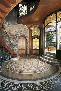 Art Nouveau Architecture : best 25 art nouveau interior ideas on pinterest classic ~ Melissatoandfro.com Idées de Décoration