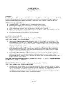 it program manager resume sle emphasizing area of