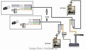 Rj45 Wiring Diagram  Cctv Popular Cctv Balun Wiring